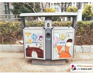 """""""垃圾桶涂鸦""""创意活动"""