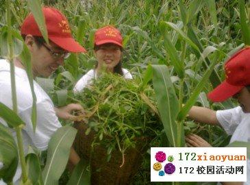 大学生社会实践-与农民同吃住体验农村生活