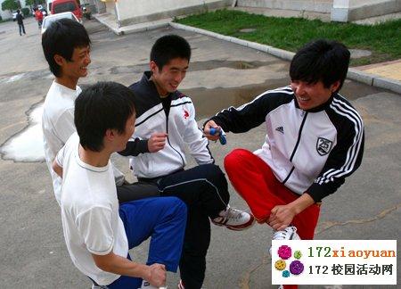 校园脚斗士(斗鸡)挑战赛
