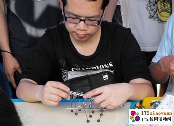 九连环大赛挑战中国古典益智游戏